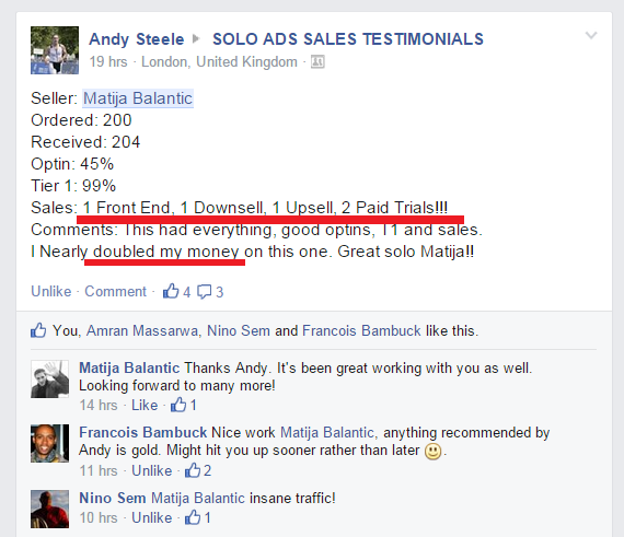 matija solo ads traffic