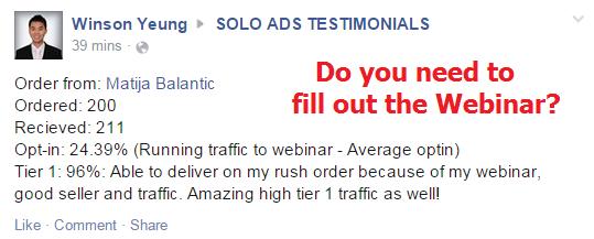 webinar traffic